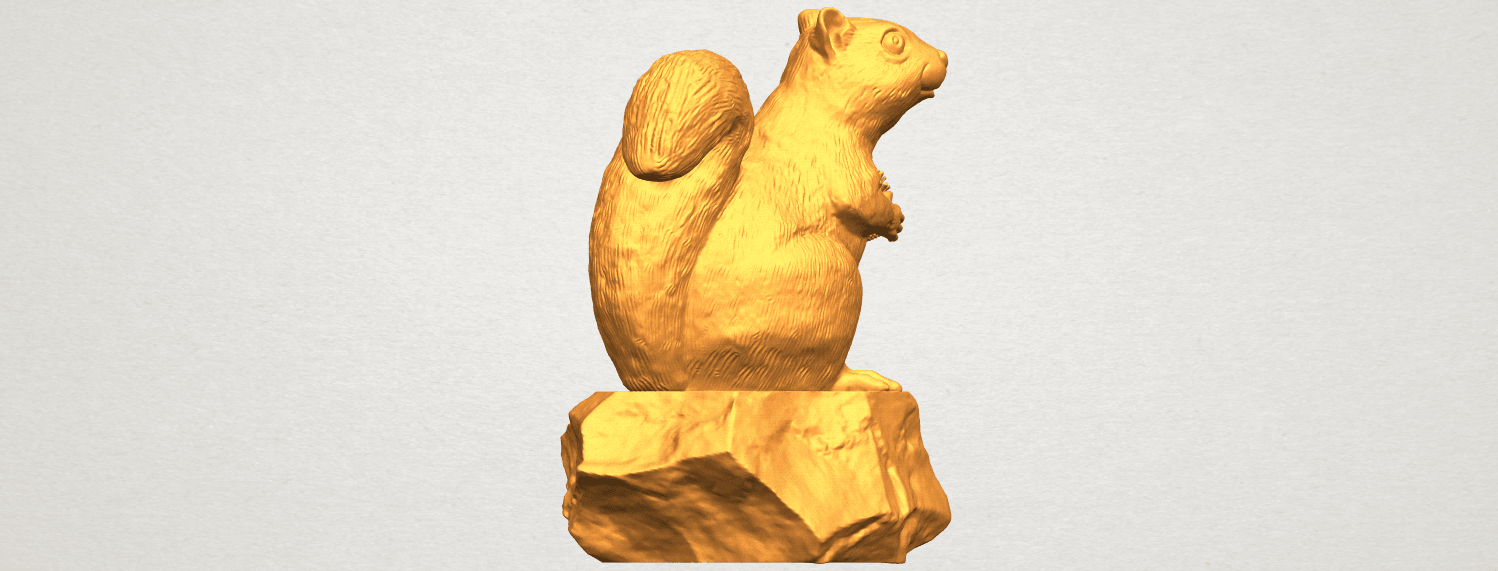 A05.png Download free STL file Squirrel 01 • Model to 3D print, GeorgesNikkei