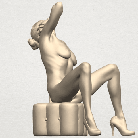TDA0289 Naked Girl B06 09.png Download free STL file  Naked Girl B06 • 3D print design, GeorgesNikkei