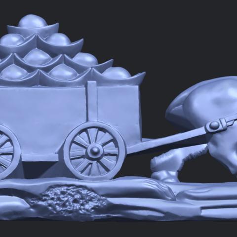 17_TDA0315_Golden_CarB06.png Download free STL file Golden Car • 3D printer template, GeorgesNikkei