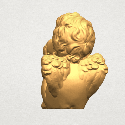TDA0481 Angel Baby 04 B05.png Download free STL file Angel Baby 04 • 3D printable template, GeorgesNikkei