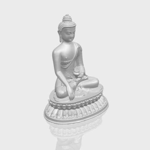 15_TDA0173_Thai_Buddha_(iii)_88mmA00-1.png Download free STL file Thai Buddha 03 • 3D printing object, GeorgesNikkei