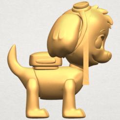 3d printer model Dog Cartoon 02, Miketon