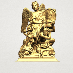 Angel (vi) - A01.png Download free STL file Angel 06 • 3D printer model, GeorgesNikkei