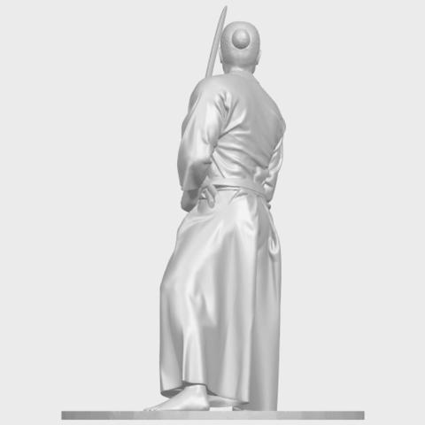 05_TDA0544_Japanese_WarriorA05.png Download free STL file Japanese Warrior • 3D printer model, GeorgesNikkei