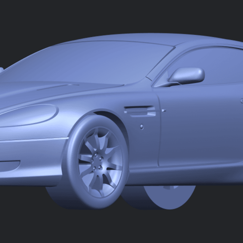 TDB006_1-50 ALLA10.png Download free STL file Aston Martin DB9 Coupe • 3D printer template, GeorgesNikkei