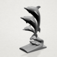 Download free 3D printing models Three Dolphin, GeorgesNikkei
