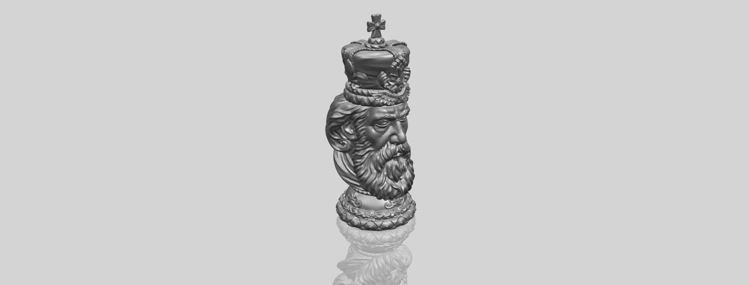 06_TDA0254_Chess-The_KingA00-1.png Download free STL file Chess-The King • 3D printer model, GeorgesNikkei