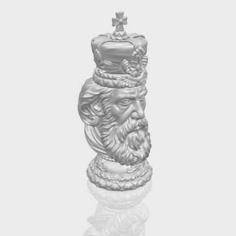 06_TDA0254_Chess-The_KingA00-1.png Télécharger fichier STL gratuit Chess-Le roi des échecs • Objet pour impression 3D, GeorgesNikkei