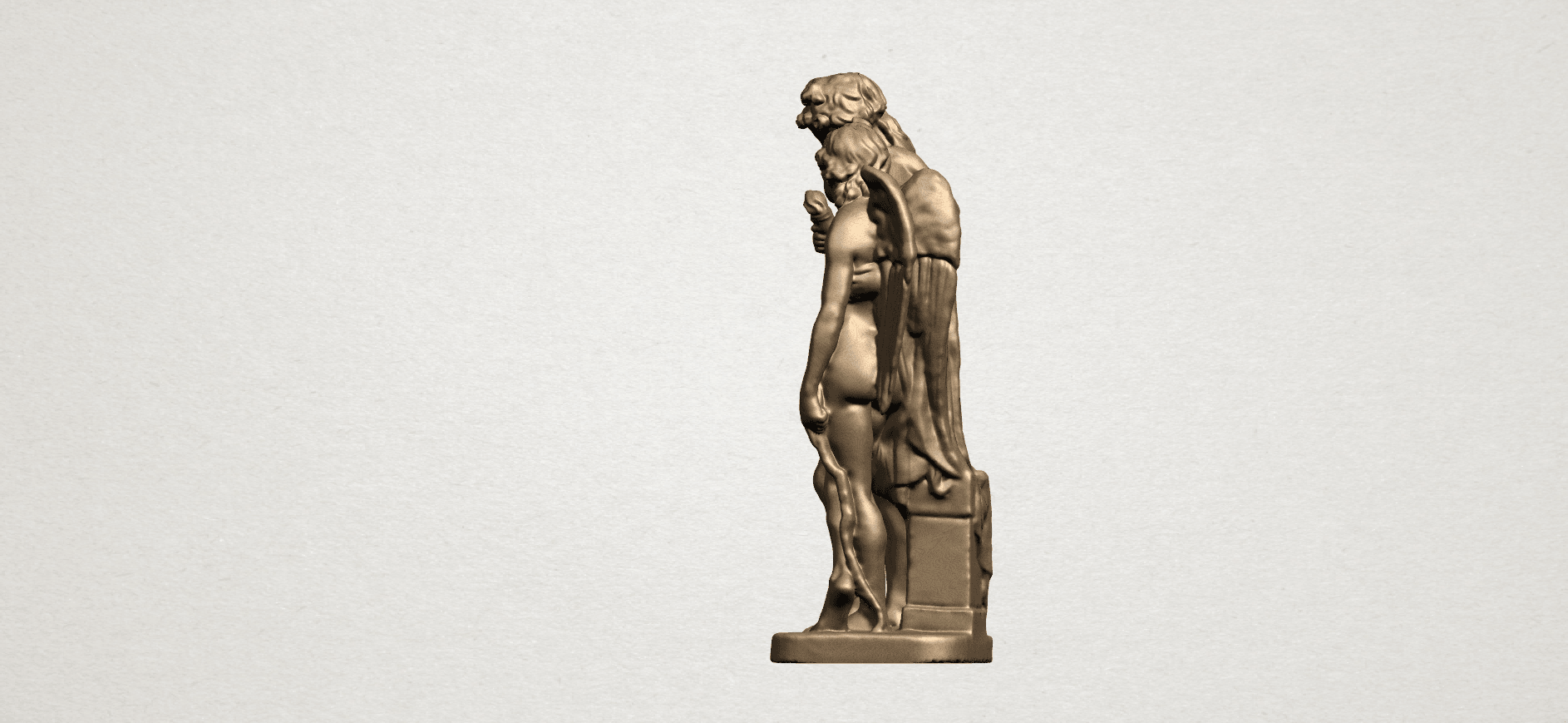 Angel (iv) A03.png Download free STL file Angel 04 • Object to 3D print, GeorgesNikkei