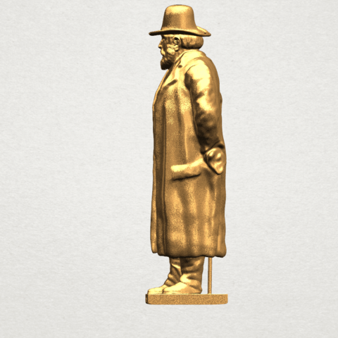 Sculpture of a man A03.png Download free STL file Sculpture of a man 02 • Object to 3D print, GeorgesNikkei