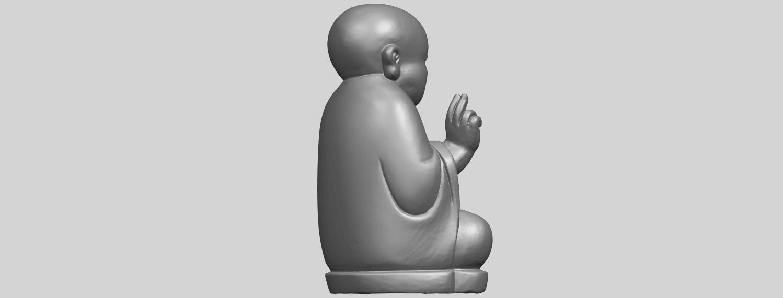 TDA0732_Little_Monk_05A08.png Télécharger fichier STL gratuit Petit Moine 05 • Modèle à imprimer en 3D, GeorgesNikkei