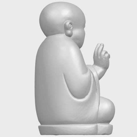 TDA0732_Little_Monk_05A08.png Download free STL file Little Monk 05 • 3D printing template, GeorgesNikkei