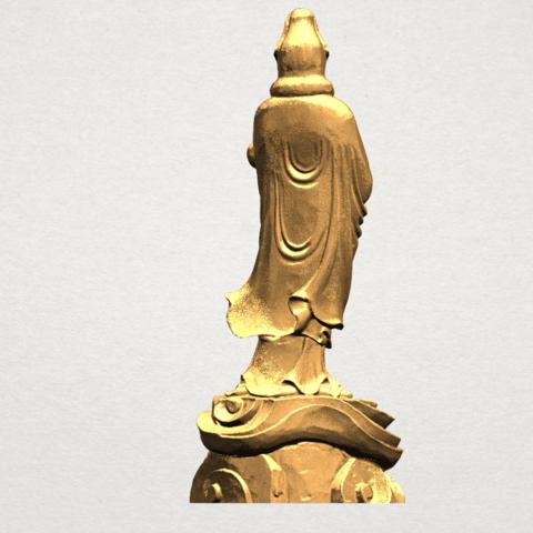 Avalokitesvara Buddha - Standing (iv) A05.png Download free STL file Avalokitesvara Buddha - Standing 04 • 3D print template, GeorgesNikkei