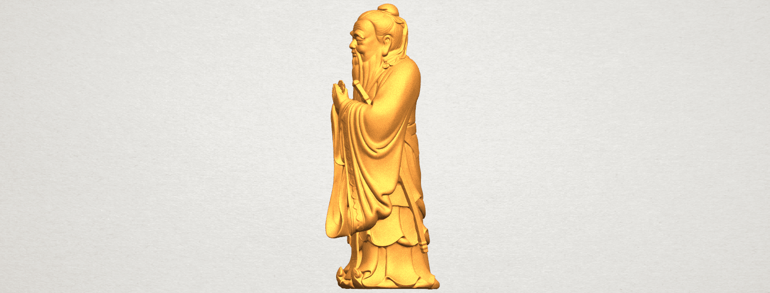 TDA0341 Confucius A03.png Download free STL file Confucius • 3D printable model, GeorgesNikkei
