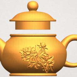 Free 3d model Tea Pot 03, GeorgesNikkei