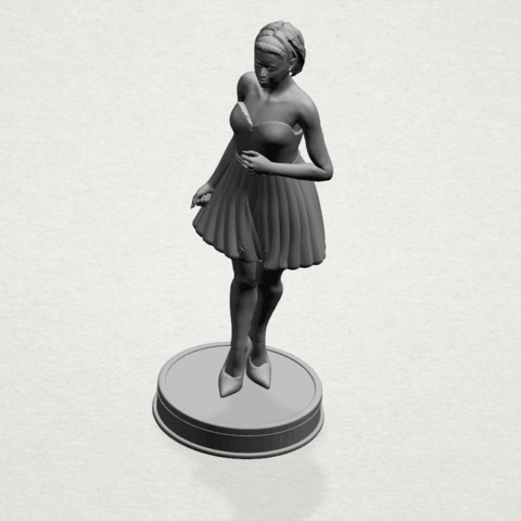 Standing girl- A02.png Download free STL file Standing girl • 3D printer design, GeorgesNikkei