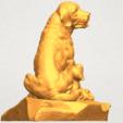 Imprimir en 3D gratis Perro y Cachorro 02, GeorgesNikkei