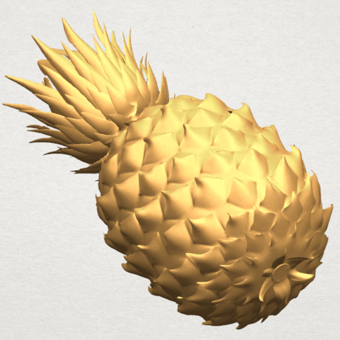 TDA0552 Pineapple A05.png Download free STL file Pineapple • 3D printer design, GeorgesNikkei
