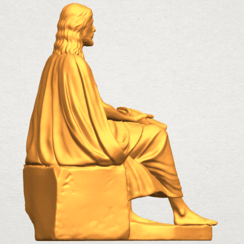 A06.png Download free STL file Jesus 06 • 3D printer object, GeorgesNikkei