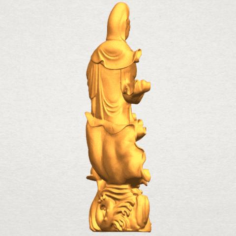 TDA0298 Avalokitesvara Bodhisattva - Standing (vi) A06.png Télécharger fichier STL gratuit Avalokitesvara Bodhisattva - Debout 06 • Objet pour impression 3D, GeorgesNikkei