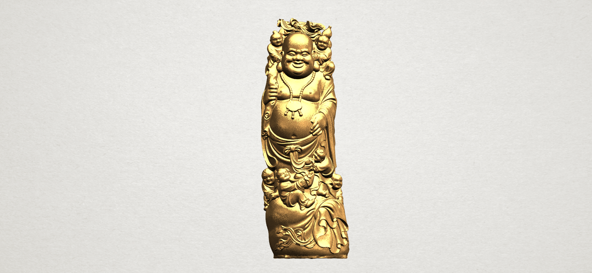 TDA0070 Metteyya Buddha 02 - 88mm - A01.png Download free STL file Metteyya Buddha 02 • 3D printer object, GeorgesNikkei