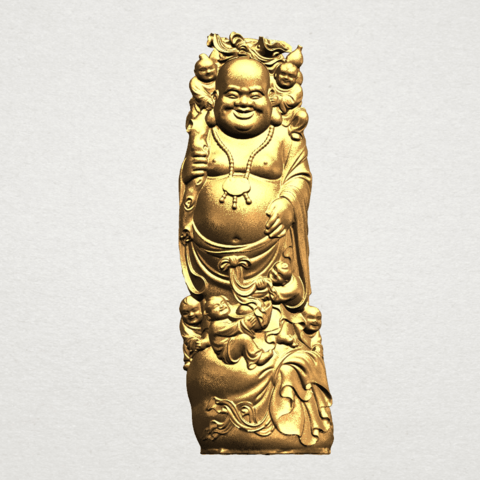 Download free STL file Metteyya Buddha 02 • 3D printer object, GeorgesNikkei