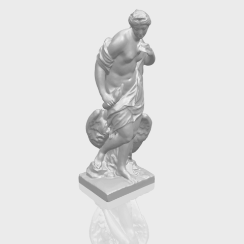 25_TDA0173_Naked_Girl_with_Goose_88mmA00-1.png Download free STL file Naked Girl with Goose • 3D print template, GeorgesNikkei