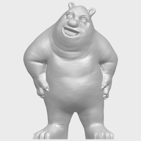 14_TDA0561_Bear_SeniorA01.png Télécharger fichier STL gratuit Bear Senior • Plan imprimable en 3D, GeorgesNikkei