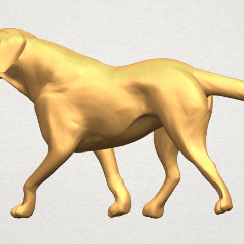 TDA0527 Dog 01 A06.png Download free STL file Dog 01 • 3D printer template, GeorgesNikkei