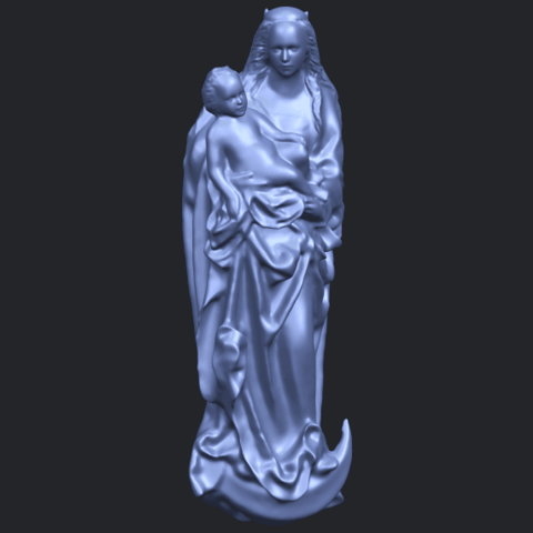 18_TDA0203_Mother_and_Child_(vi)_-88mmstlB01.png Download free STL file Mother and Child 06 • 3D printing template, GeorgesNikkei