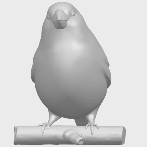 05_TDA0604_SparrowA04.png Download free STL file Sparrow • 3D print template, GeorgesNikkei