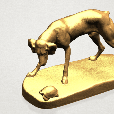 Dog (i) A07.png Télécharger fichier STL gratuit Chien 01 • Plan pour impression 3D, GeorgesNikkei