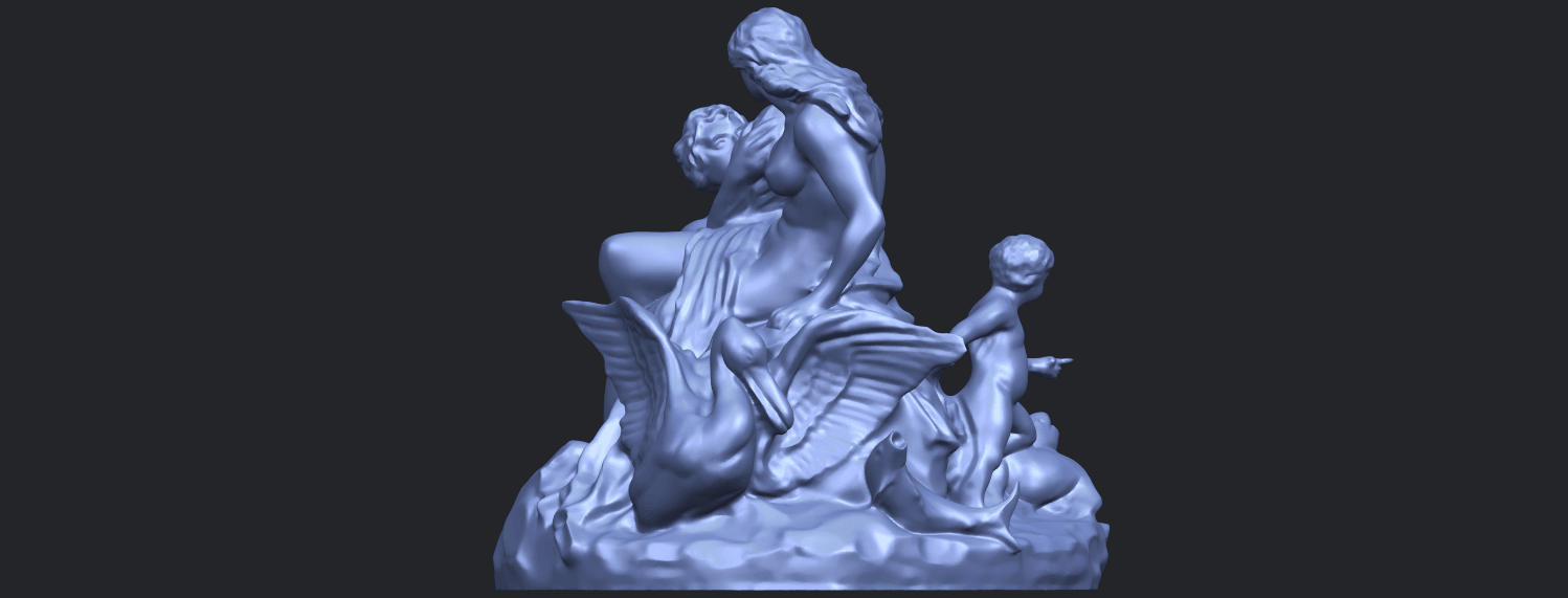 28_TDA0166_Naked_Couple_viB02.png Download free STL file  Naked Couple 06 • 3D printing object, GeorgesNikkei