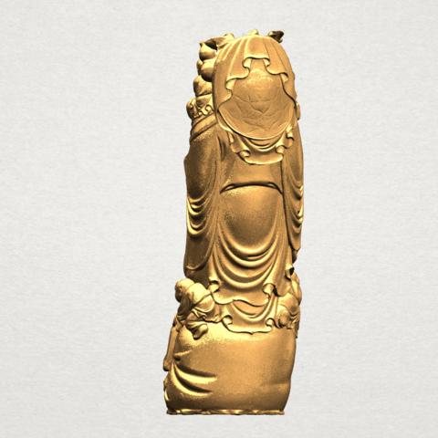 TDA0070 Metteyya Buddha 02 - 88mm - A04.png Download free STL file Metteyya Buddha 02 • 3D printer object, GeorgesNikkei