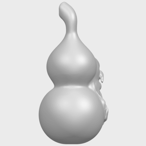11_TDA0335_Bottle_Gourd_01A08.png Download free STL file Bottle Gourd 01 • 3D printing template, GeorgesNikkei