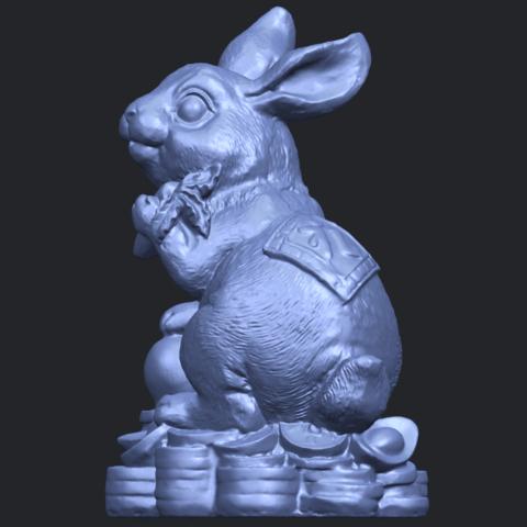 07_TDA0559_Rabbit_02B03.png Télécharger fichier STL gratuit Lapin 02 • Design imprimable en 3D, GeorgesNikkei