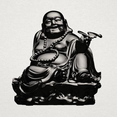 Metteyya Buddha 06 - B01.png Download free STL file Metteyya Buddha 06 • 3D print model, GeorgesNikkei