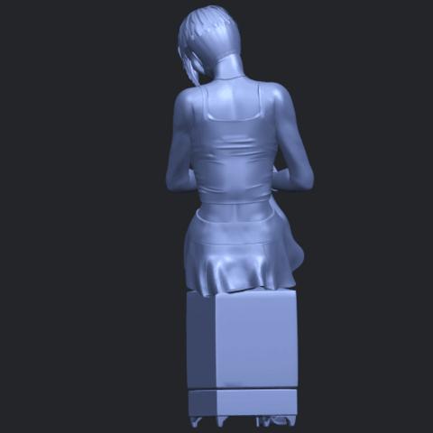 19_TDA0471_Beautiful_Girl_05_B06.png Download free STL file Beautiful Girl 05 • 3D printing template, GeorgesNikkei