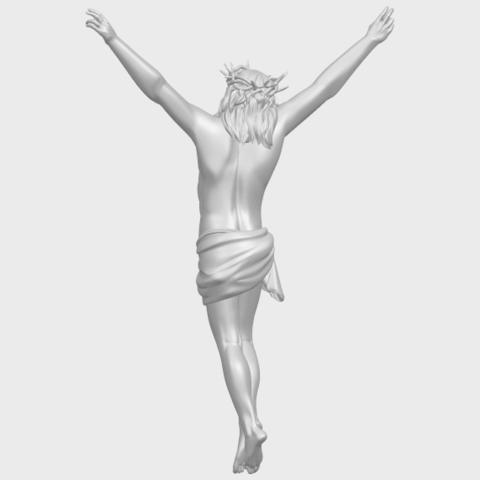 05_TDA0231_Jesus_(ii)_88mmA06.png Download free STL file Jesus 02 • 3D printing template, GeorgesNikkei