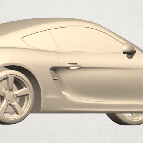 TDA0304 Porche 01 Length438mm A04.png Download free STL file Porche 01 • 3D printable object, GeorgesNikkei