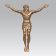 TDA0230 Jesus (i) A02.png Download free STL file Jesus 01 - top • Object to 3D print, GeorgesNikkei