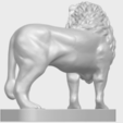 02_TDA0313_Lion_(iii)A05.png Download free STL file Lion 03 • 3D printable template, GeorgesNikkei