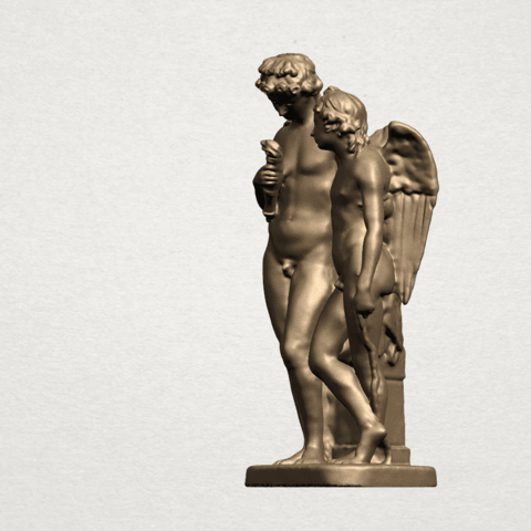 Angel (iv) A02.png Download free STL file Angel 04 • Object to 3D print, GeorgesNikkei