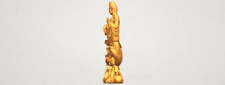TDA0298 Avalokitesvara Bodhisattva - Standing (vi) A04.png Télécharger fichier STL gratuit Avalokitesvara Bodhisattva - Debout 06 • Objet pour impression 3D, GeorgesNikkei