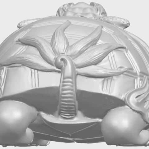 01_TDA0333_Dragon_TortoiseA04.png Télécharger fichier STL gratuit Tortue dragon • Objet imprimable en 3D, GeorgesNikkei
