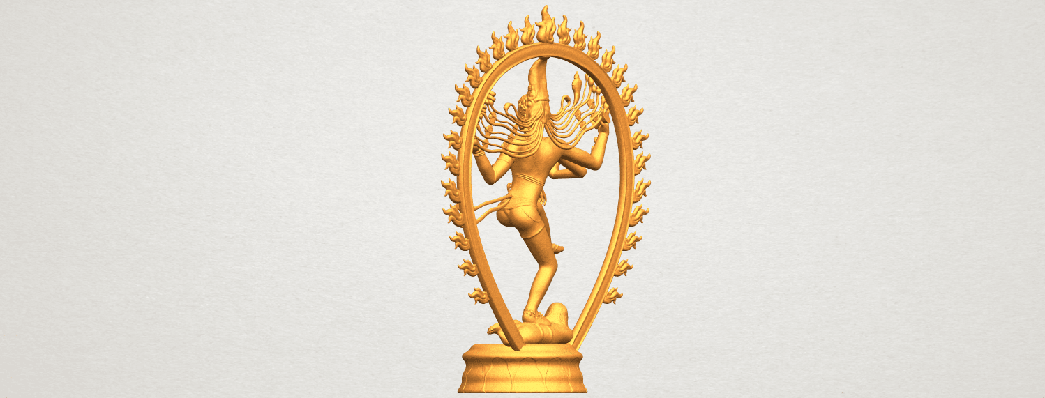 A05.png Download free STL file Shiva King • 3D printing template, GeorgesNikkei