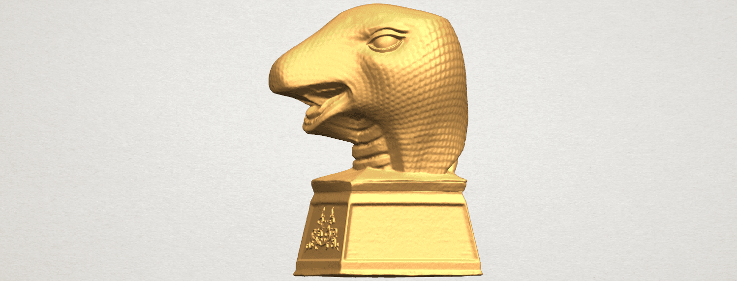 TDA0513 Chinese Horoscope of Snake A03.png Download free STL file Chinese Horoscope of Snake 02 • 3D printer design, GeorgesNikkei