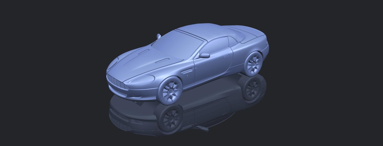 TDB007_1-50 ALLA00-1.png Download free STL file Aston Martin DB9 Cabriolet • 3D print model, GeorgesNikkei