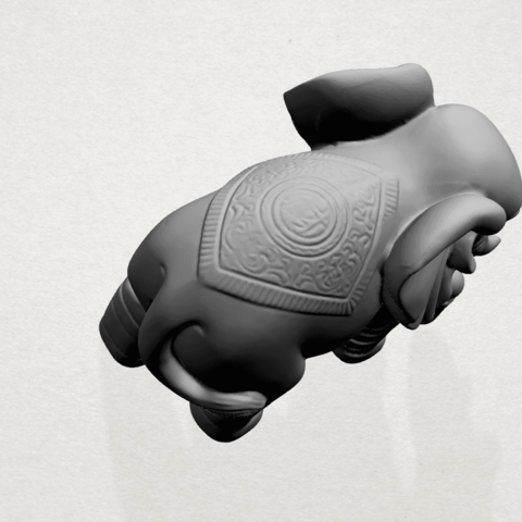 Elephant 03-A03.png Download free STL file Elephant 03 • 3D printable design, GeorgesNikkei