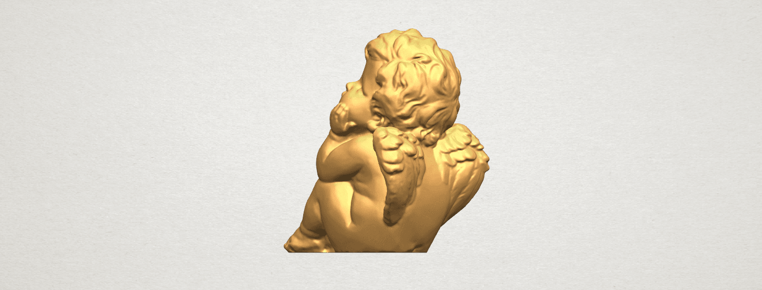 TDA0481 Angel Baby 04 B04.png Download free STL file Angel Baby 04 • 3D printable template, GeorgesNikkei